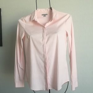 Cos pink button down